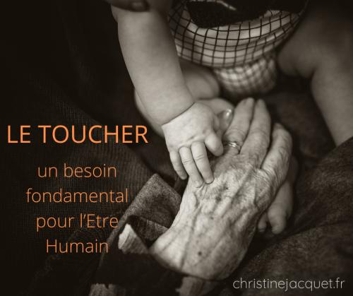 Le toucher : un besoin fondamental pour l'être humain